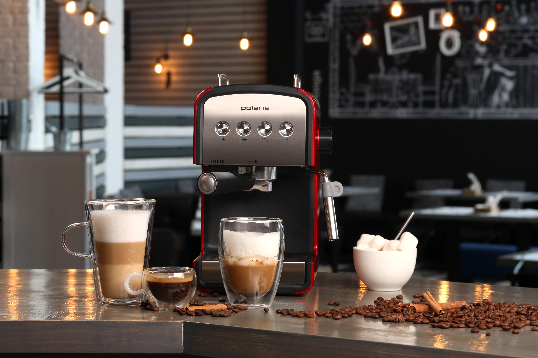 Что такое рожковая кофеварка