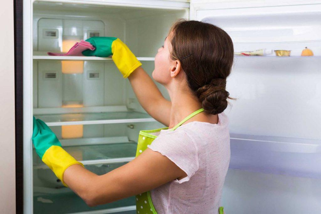Как избавиться от запаха в морозильной камере