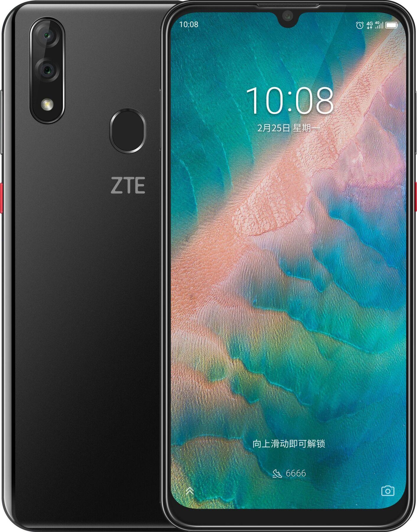 Бюджетный смартфон ZTE Blade V10