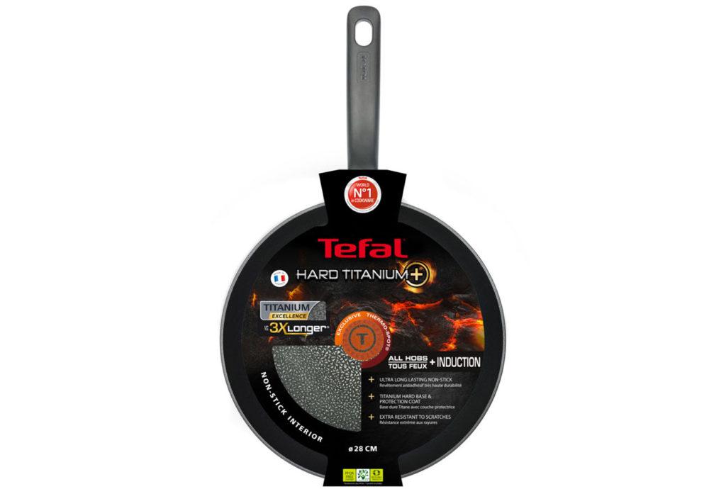 Tefal Hard Titanium+ 28 см