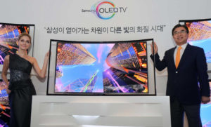 Впервые ЖК-матрицу с такой подсветкой представила корейская компания Samsung