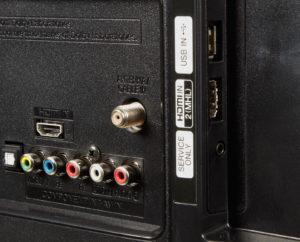 Обязательные разъемы: HDMI, USB