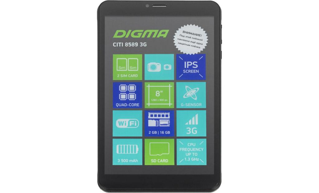 Модель DIGMA CITI 8589 3G