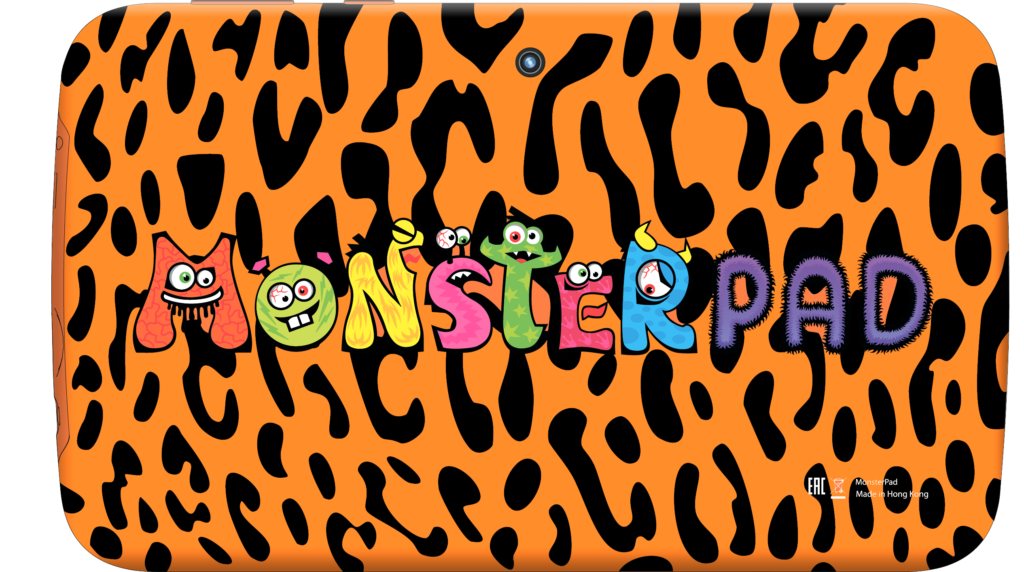 MonsterPad Жираф/леопард