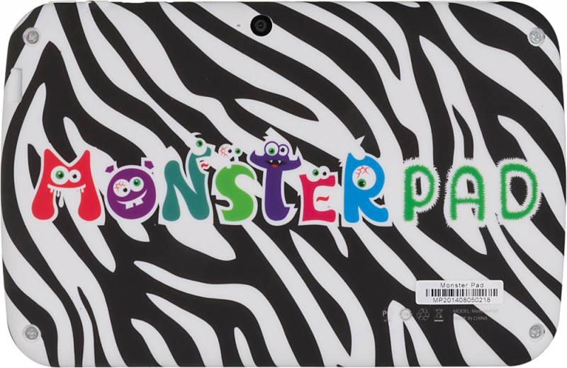 MonsterPad Зебра/леопард