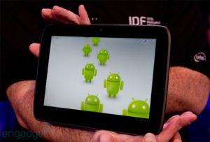 Платформа Android самая популярная операционная система для планшетов