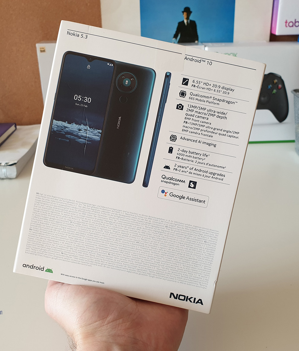 Характеристики Nokia 5.3